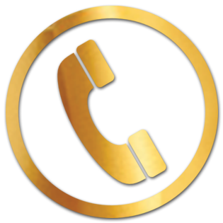 Bildergebnis für telefon logo gold